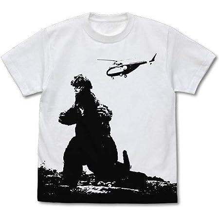 ゴジラ シリーズ ゴジラ'62 オールプリント Tシャツ ホワイト Mサイズ