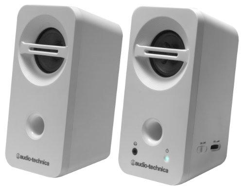 オーディオテクニカ デスクトップスピーカー ホワイト AT-SP93 WH