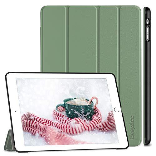 EasyAcc Hülle für iPad Air, Ultra Slim Hülle Hülle Schutzhülle PU Lederhülle mit Standfunktion/Auto Sleep Wake Up Funktion Kompatibel für iPad Air 2013 (Modellnummer A1474 A1475 A1476) - Hellgrün
