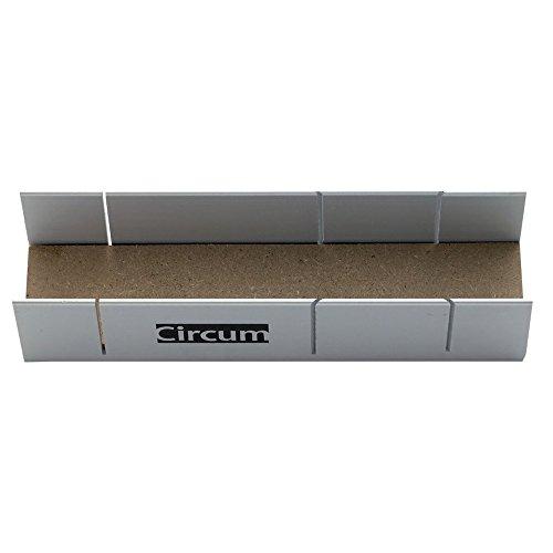 Circumpro Mitre box 4333097002302in alluminio, colore: Argento, 245x 60x 37mm