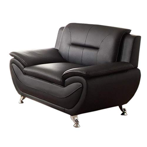 Kingway Furniture Ashely Living Room Chair -Black