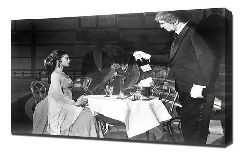 Pingoo Prints Preis, Vincent (schreckenskabinett des Dr. Phibes, The) 27,9cm Kunstdruck, Leinwand, Mehrfarbig, 60x 90x 5cm