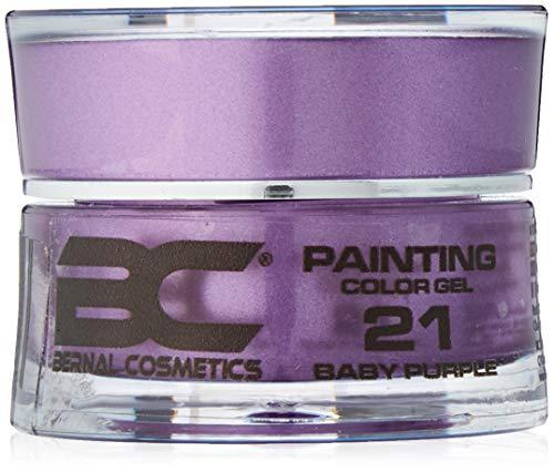 BC Bernal Cosmetics Gel Painting No 21 – Baby Purple – 5 ml – 1 unité