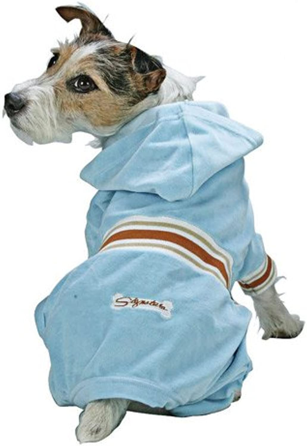 Fashion Pet Outdoor Dog Classic Turtleneck Sweater, Small, bluee