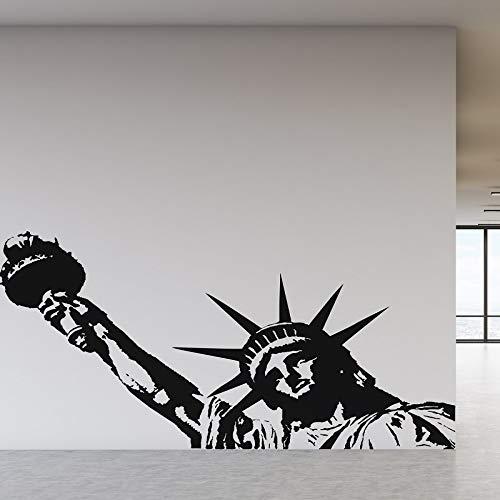 Nueva York hito estatua de la libertad etiqueta de la pared de vinilo oficina universidad dormitorio salón decoración del hogar etiqueta de la pared
