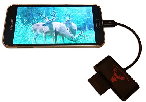 BuckStruck Game and Trail Camera Viewer for Android Devices, Micro USB Connection, Reads & Writes SD...