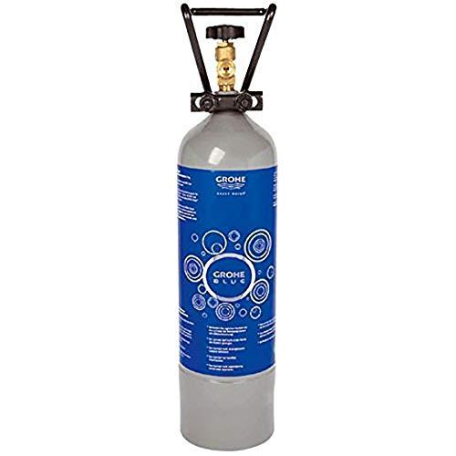 Grohe - Botella de CO2 para agua con gas (2 kg), para Grohe Blue Ref. 40423000