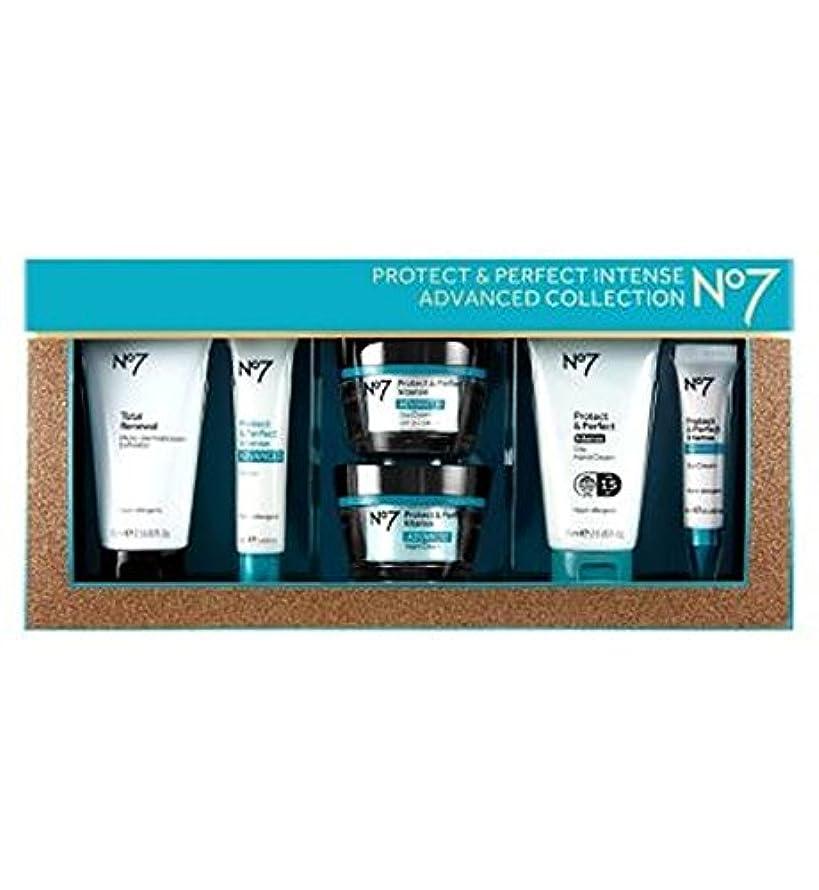 貫通する発音愛するNo7保護&完璧な強烈な高度なコレクション (No7) (x2) - No7 Protect & Perfect Intense ADVANCED Collection (Pack of 2) [並行輸入品]