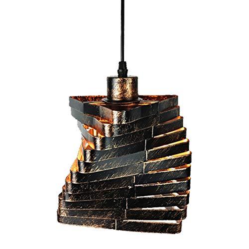 Vintage Industriell Suspension en cuivre style industriel pour cuisine Cafe Internet Cafés Bar Ø 16 cm