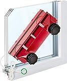 Tyroler Bright Tools - Limpiacristales Magnético The Glider D-2 AFC - Limpiador de Ventanas para Interior y Exterior | Acristalamiento Simple o Doble 2-18 mm | Potencia de Imán Ajustable