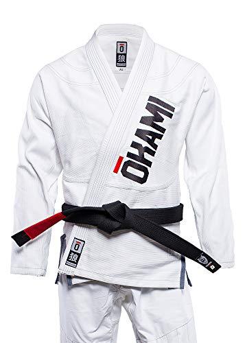 Okami BJJ GI, Competition Training, Weiss GI-Größe A2 L