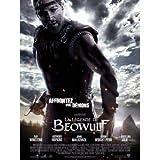 Póster de cine, película de la leyenda de Beowulf (120 x 160 cm), plegado