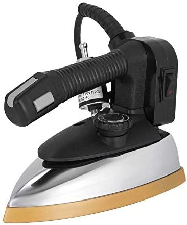 Discount Don't miss the campaign mail order VEVOR Industrial Steam Iron 1000W Irons Steel Electric Fee