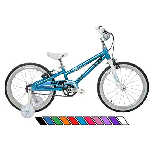 Joey 3.5 Ergonomic Kids Bicycle, For Boys or Girls, Age 3-6, Height 37-47 inches, in Aqua