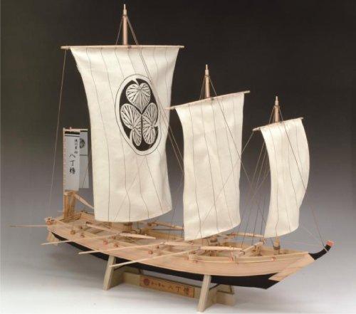 ウッディジョー 1/24 八丁櫓 はっちょうろ 木製帆船模型 組立キット