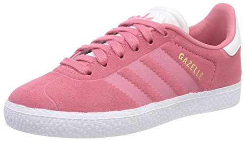 adidas Gazelle, Scarpe Running Unisex Adulto, Rosa (Rostiz/Rostiz/Ftwbla 000), 38 2/3 EU