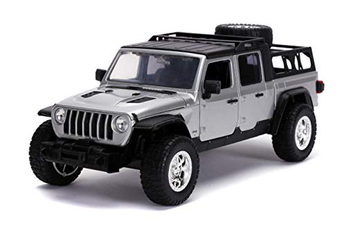 Jada Toys Fast & Furious 1:24 2020 Jeep Gladiator Die-cast Car, Toys for Kids and Adults