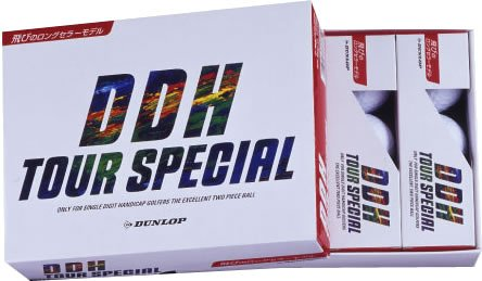 Dunlop (Golfball DDH-Tour Spezielle 12 Stück