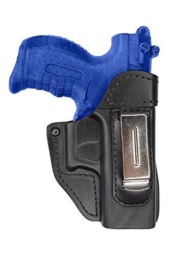 VlaMiTex IWB 2 Leder Holster für Walther P22 / PK380 /Ruger SR 22 Verdeckte/Versteckte Trageweise