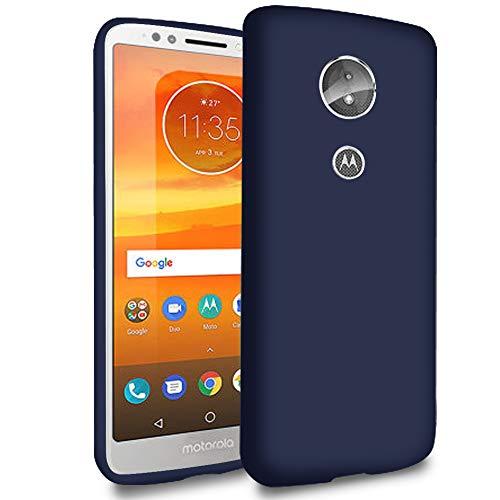 5.99 Funda móvil para Motorola Moto E5   TPU  Azul Marino Bordes Protegidos  
