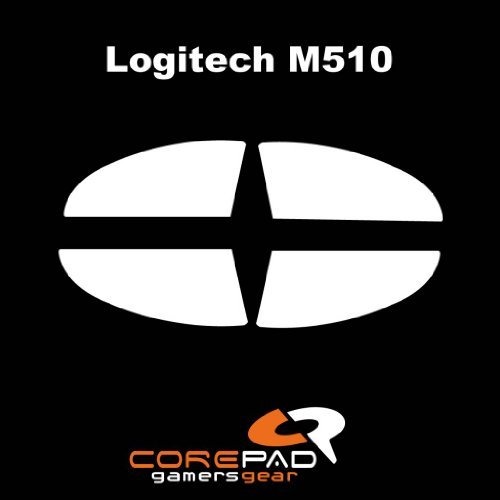 Corepad Mausfüße Skatez Pro 69 Logitech M510 - Logitech MK550