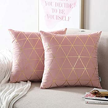 Best blush pink throw pillows Reviews