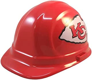 Texas American Safety Company Kansas City Chiefs Hard Hats, ERB Style with Standard Suspension