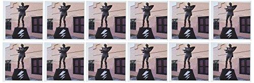 3drose boodschap Theater Statue Home of Rocky Horror Picture Show in Hamilton, Nieuw-Zeeland - wenskaarten, 15,2 x 15,2 cm, set 12 (GC 49574 2)