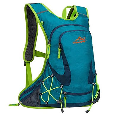 BBYaKi 20 L Zaini Da Escursionismo Ciclismo Backpack Zaino Scalate Attività Ricreative Campeggio E Hiking Viaggiompermeabile Traspirante , Green