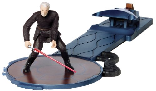 Star Wars: Episode 2 Deluxe Darth Tyrannus Action Figure