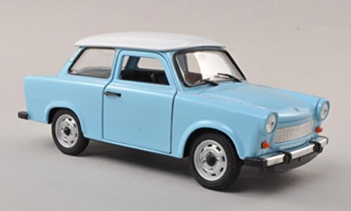 Welly 1:24 Trabant 601, hell-blau/weiß