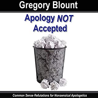 Apology Not Accepted audiobook cover art