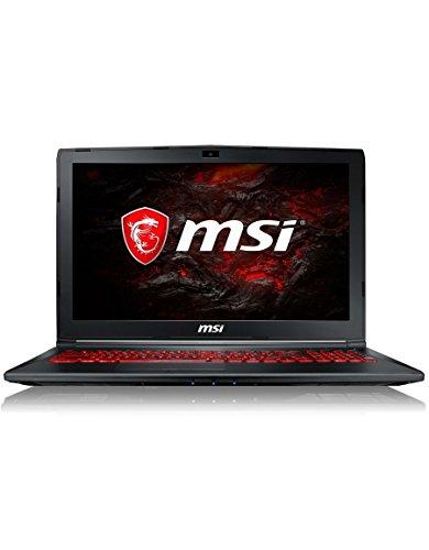 "MSI GL62M 7RDX-1629XFR Ultrabook 15,6"" Noir (Intel Core i5, 8 Go de RAM, 1 to, GTX 1050, 2 Go GDDR5, Dos)"