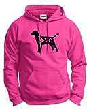 Dog Lover Gifts Labrador Retriever Love Dog Paw Prints Hoodie Sweatshirt Small Hlcna