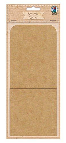 Bestecktaschen 250 g/m² aus Kraftkarton