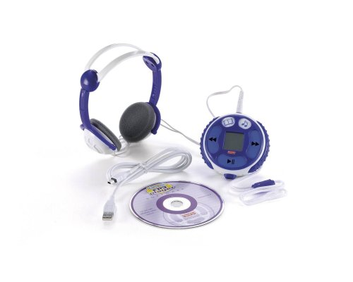 Fisher Price Kid Tough FP3 Song & Story Player - Blue by Fisher-Price