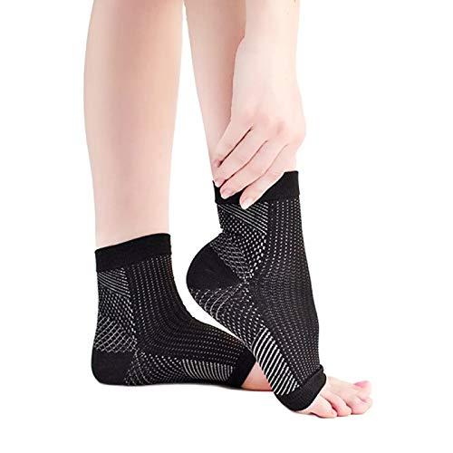 1 Paar Sport Knöchelstütze Kompression Knöchelstütze Anti Fatigue Socken atmungsaktiv Netz Fußmanschette Yoga Fußkettchen Schutzausrüstung