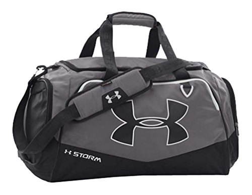 Under Armour UA Storm Undeniable II MD Duffles, Graphite/Black/White, One-Size