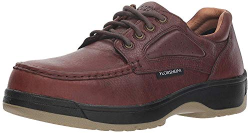 Florsheim Work Men's FS2400 Steel-Toed Work Boot,Dark Brown,12 D US