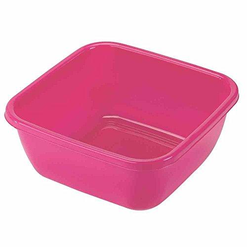 HEIDRUN Spülschüssel, Spülwanne, 38 x 38 x 15 cm, 15 l, farblich sortiert, 1 Stück, aus Kunststoff