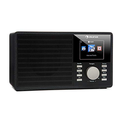auna IR-160 Internet Radio - Radio Alarm, Digital...