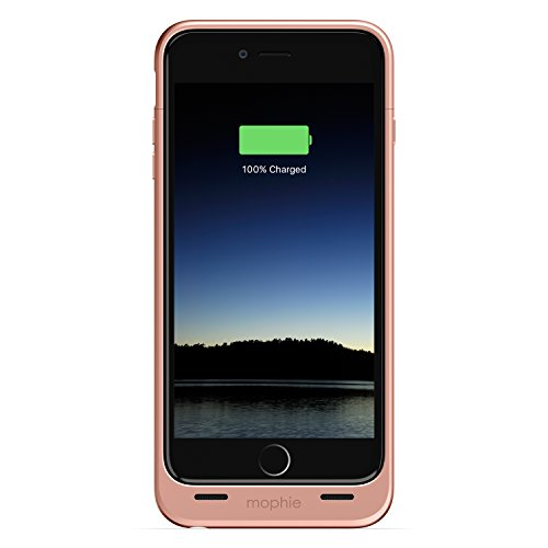 mophie juice pack - Protective Battery Case for iPhone 6 Plus /6S Plus (2,600mAh) - Rose Gold