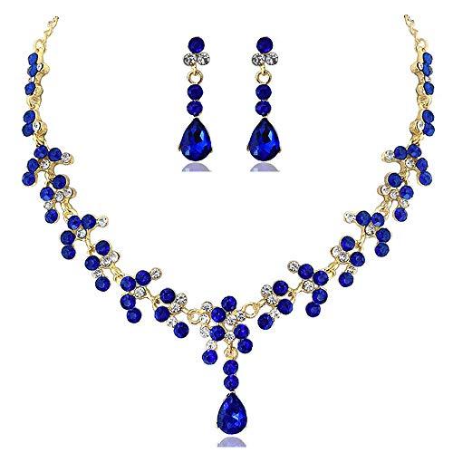 Conjunto de joyas para boda conjuntos de joyas para mujer, collar de...