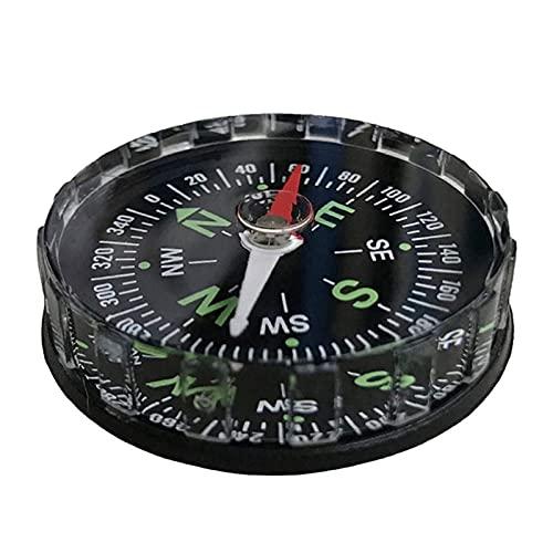 NCRD Tragbarer Mini-präziser Kompass Praktischer Führer for Campingwanderung North Navigation Survival Button Design Compass