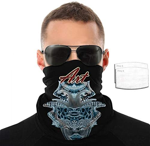 Unisex Balaclava Comfortable Bandana Upside Down Artist by L R Emerson Ii Poster Dust Scarf product image