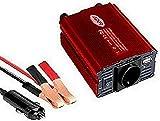 LIDER-300W600W Inversor de Corriente. Onda sinusoidad modificada, trasformador de DC 12V/ a AC 220V, para Coche con Puerto USB,Nuevo Modelo controlado por Micro procesador