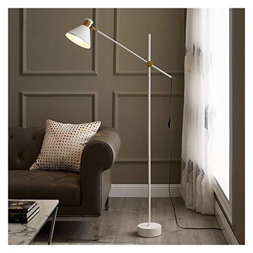 ZGP-LED Luces de Piso Columpio Blanco Lámpara de pie Brazo de Ajuste decoración del hogar salón sofá Moderno Vertical Tabla Dormitorio de la lámpara LED de la lámpara de Noche Nivel de energía [A ++]