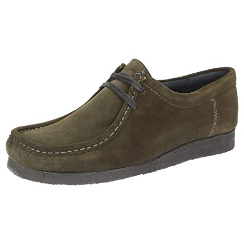 Sioux Herren Grashopper-H-141 Sneaker, Grün (Juniper 007), 42.5 EU