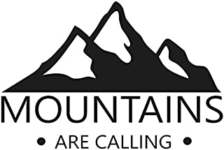 Mountains Are Calling Decal- {BLACK} 5