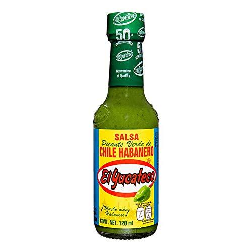 El Yucateco – Green Habanero Hot Sauce (Salsa Picante de Chile Habanero) – 120ml